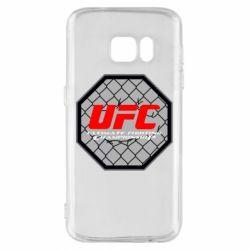 Чехол для Samsung S7 UFC Cage