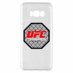 Чехол для Samsung S8 UFC Cage