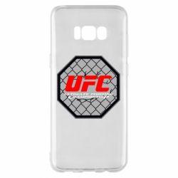 Чехол для Samsung S8+ UFC Cage