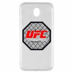 Чехол для Samsung J7 2017 UFC Cage
