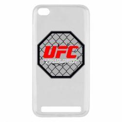 Чехол для Xiaomi Redmi 5a UFC Cage