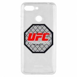 Чехол для Xiaomi Redmi 6 UFC Cage