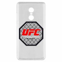 Чехол для Xiaomi Redmi Note 4x UFC Cage