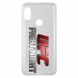 Чохол для Xiaomi Redmi Note Pro 6 UFC Fight Night