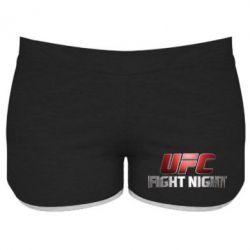 Женские шорты UFC Fight Night - FatLine
