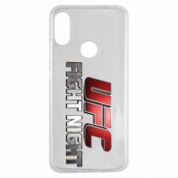 Чохол для Xiaomi Redmi Note 7 UFC Fight Night