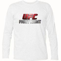Футболка с длинным рукавом UFC Fight Night - FatLine