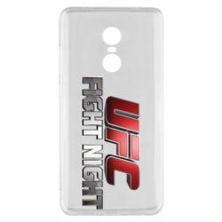 Чохол для Xiaomi Redmi Note 4x UFC Fight Night