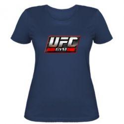 Женская футболка UFC GyM - FatLine