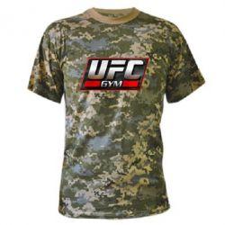 Камуфляжная футболка UFC GyM - FatLine