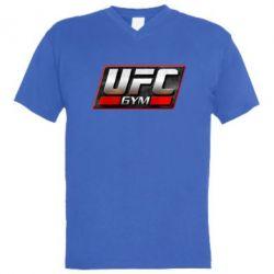 Мужская футболка  с V-образным вырезом UFC GyM - FatLine