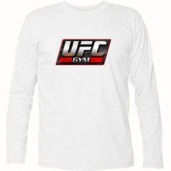 Футболка с длинным рукавом UFC GyM - FatLine