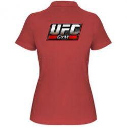 Женская футболка поло UFC GyM - FatLine