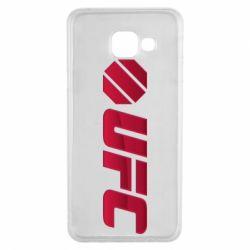 Чехол для Samsung A3 2016 UFC Main Logo