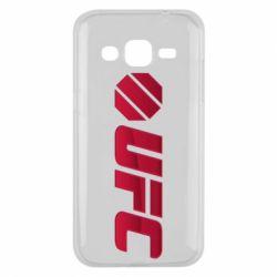 Чехол для Samsung J2 2015 UFC Main Logo