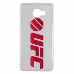 Чехол для Samsung A7 2016 UFC Main Logo