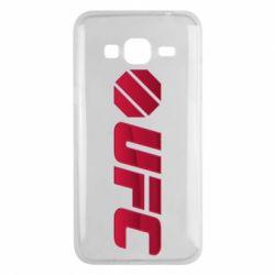 Чехол для Samsung J3 2016 UFC Main Logo