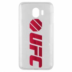 Чехол для Samsung J4 UFC Main Logo