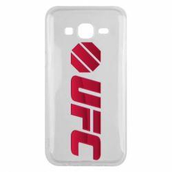 Чехол для Samsung J5 2015 UFC Main Logo