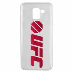 Чехол для Samsung J6 UFC Main Logo