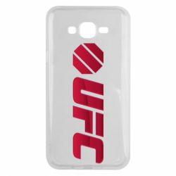 Чехол для Samsung J7 2015 UFC Main Logo