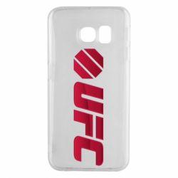 Чехол для Samsung S6 EDGE UFC Main Logo