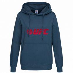 Женская толстовка UFC Main Logo - FatLine