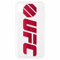 Чехол для iPhone XR UFC Main Logo