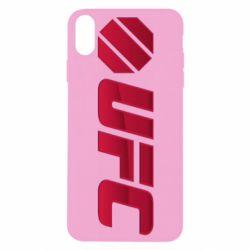 Чехол для iPhone Xs Max UFC Main Logo