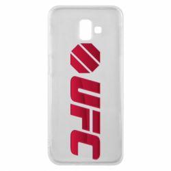 Чехол для Samsung J6 Plus 2018 UFC Main Logo