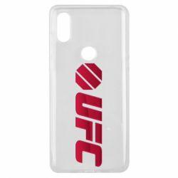 Чехол для Xiaomi Mi Mix 3 UFC Main Logo