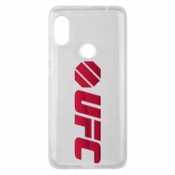 Чехол для Xiaomi Redmi Note 6 Pro UFC Main Logo