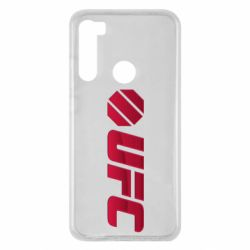 Чехол для Xiaomi Redmi Note 8 UFC Main Logo