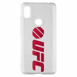Чехол для Xiaomi Redmi S2 UFC Main Logo