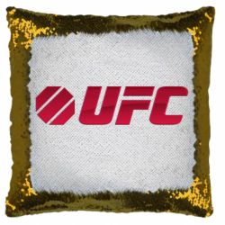 Подушка-хамелеон UFC Main Logo