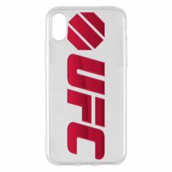 Чехол для iPhone X/Xs UFC Main Logo