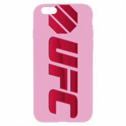 Чехол для iPhone 6 Plus/6S Plus UFC Main Logo