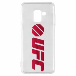 Чехол для Samsung A8 2018 UFC Main Logo