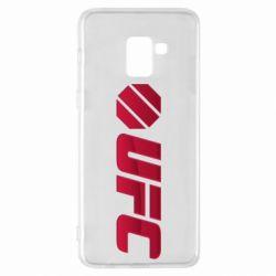 Чехол для Samsung A8+ 2018 UFC Main Logo