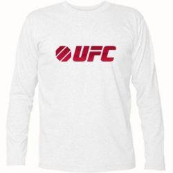 Футболка с длинным рукавом UFC Main Logo - FatLine
