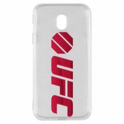 Чехол для Samsung J3 2017 UFC Main Logo