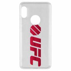 Чехол для Xiaomi Redmi Note 5 UFC Main Logo