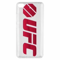 Чехол для Xiaomi Mi 5s UFC Main Logo