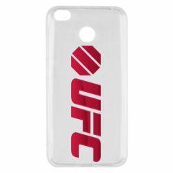 Чехол для Xiaomi Redmi 4x UFC Main Logo