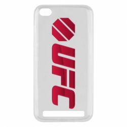 Чехол для Xiaomi Redmi 5a UFC Main Logo
