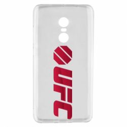 Чехол для Xiaomi Redmi Note 4 UFC Main Logo