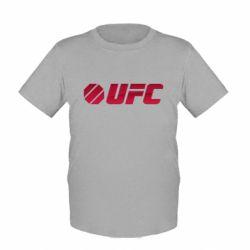 Детская футболка UFC Main Logo - FatLine