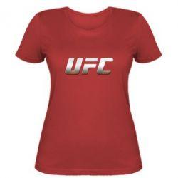 Женская футболка UFC Metal - FatLine