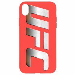 Чохол для iPhone XR UFC Metal - FatLine