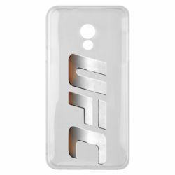 Чохол для Meizu 15 Lite UFC Metal - FatLine